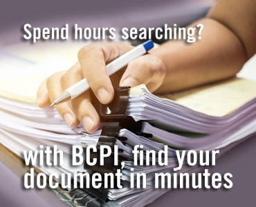Find your document in Minutes with BCPI